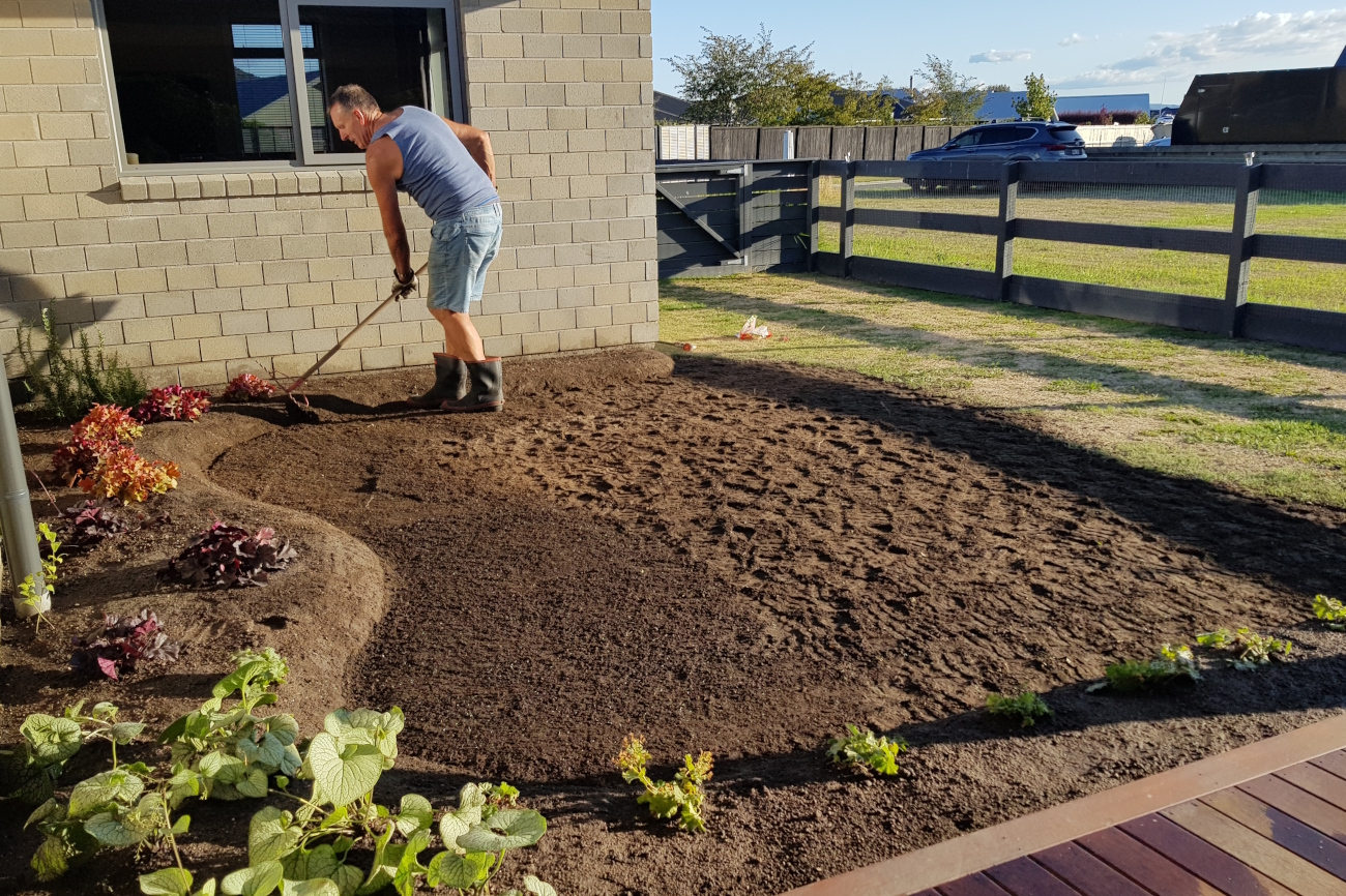 garden preparation Taupo